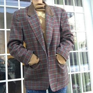 Vintage Pendleton 100% Virgin Wool Blazer & Skirt